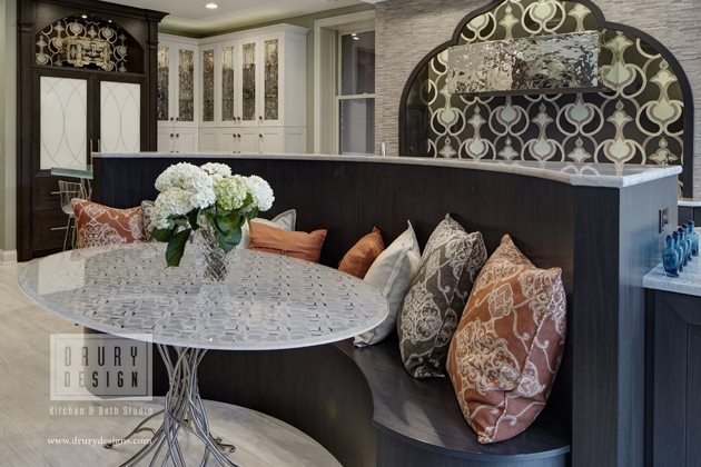 Large Contemporary Chicago Kitchen Design Wins NKBA Best of Show Award for Drury Design