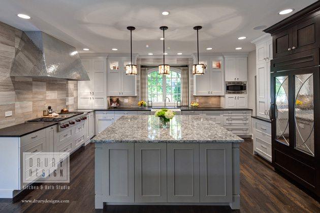 Superb Pro Chef Kitchen Design Work Triangles For Two Cooks Drury Design
