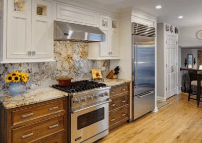 Glamorous Galley Kitchen Remodel