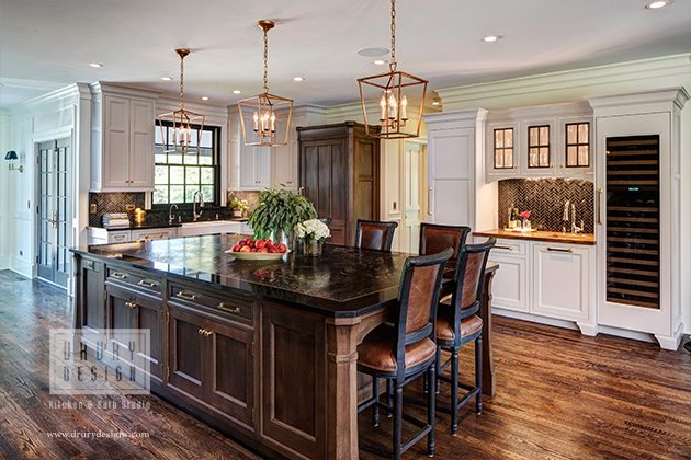Painted Cabinets vs Stained Cabinets - Drury Design