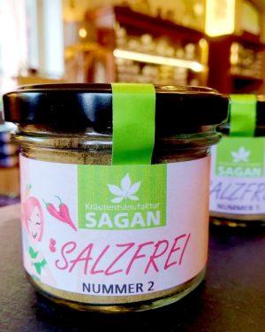 SALZFREI – Nummer 2, Glas, Kräutermanufaktur Sagan