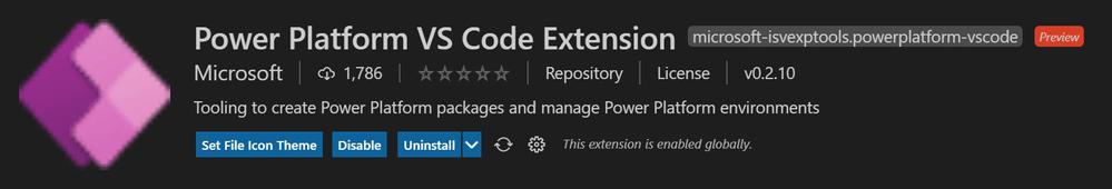PowerApps_VisualStudio_PowerPlatform_Extension
