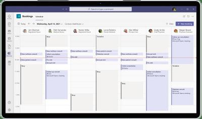 Microsoft Bookings virtual visit schedule.png