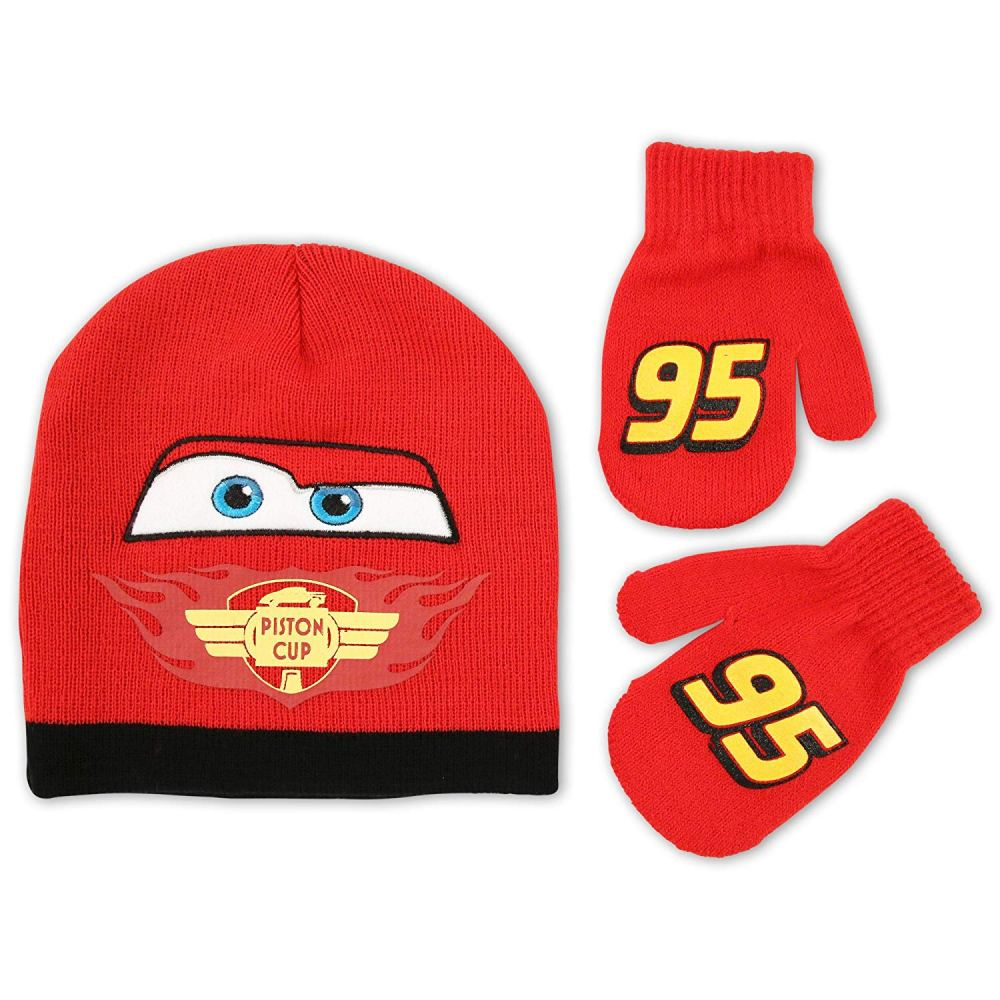 ABG-Hat-Gloves-Cars-1005-Red