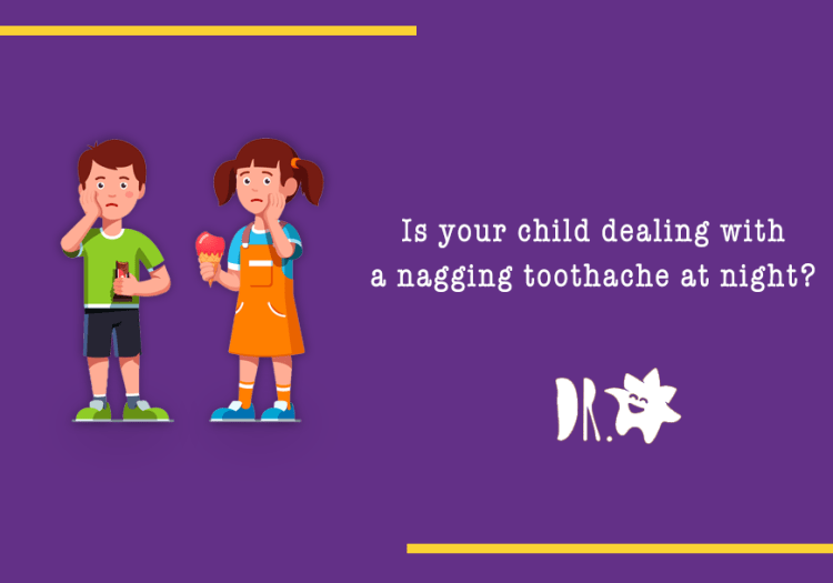 Toothache keeping your child up at night