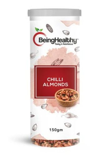 Being Healthy Chilli Almonds 150g