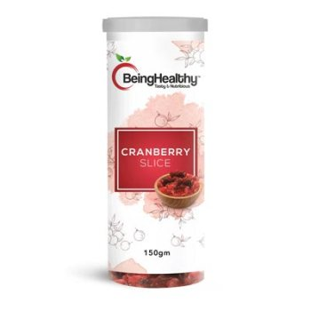 Being Healthy Cranberry Slice 150g