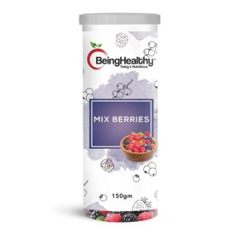 Being Healthy Mix Berries 150g