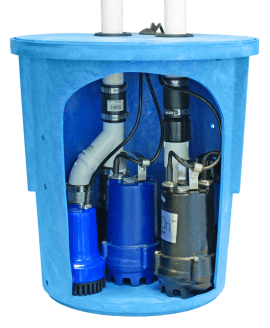 SafeDri UltrPro Triple Sump Pump