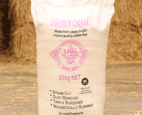 The product - oaten chaff