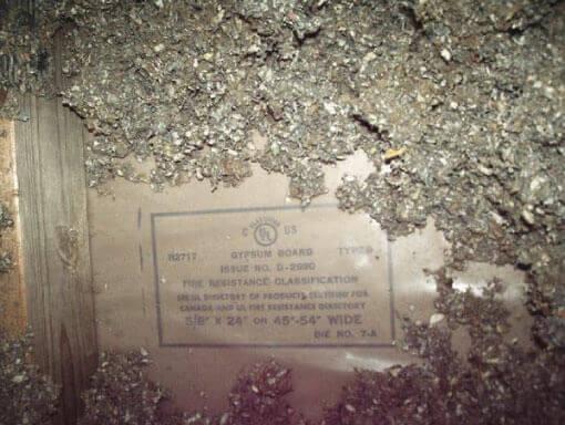 Asbestos in drywall drywall repairman building for Is there asbestos in old drywall