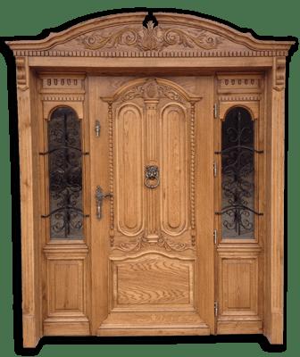 Drzwi debowe zewnetrzne na wymiar
