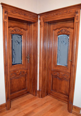 Drzwi wewnetrzne na wymiar z podwojnym malowaniem