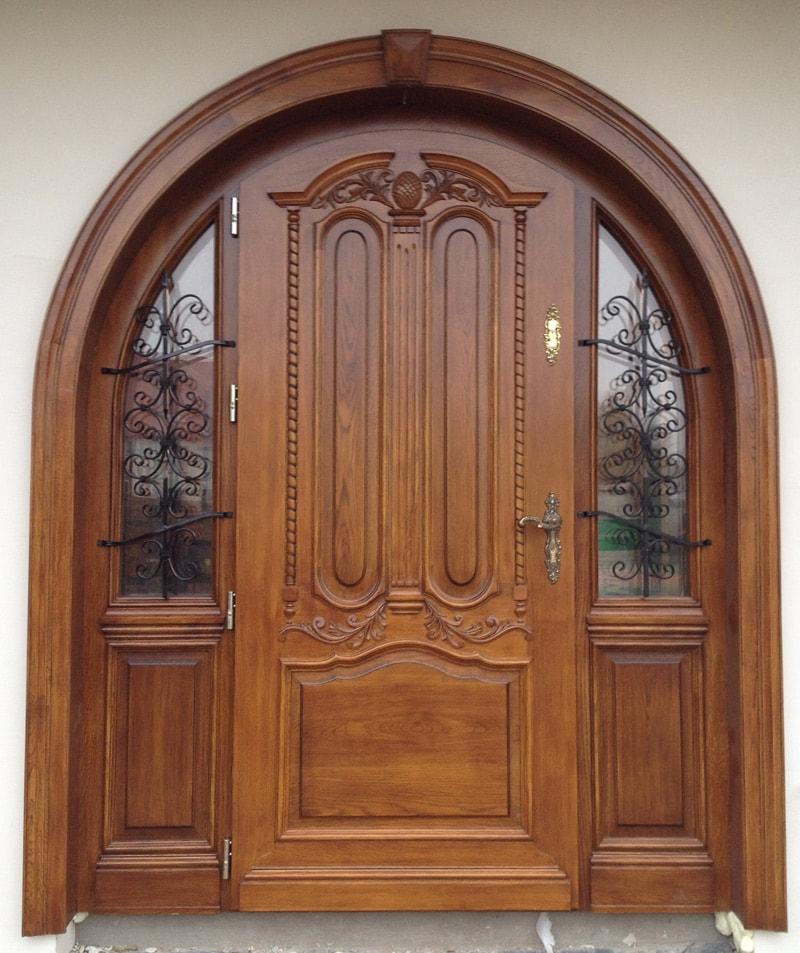 Drzwi zewnętrzne ręcznie wykonane