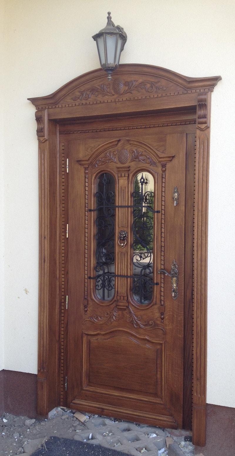 Drzwi robione na wymiar debowe