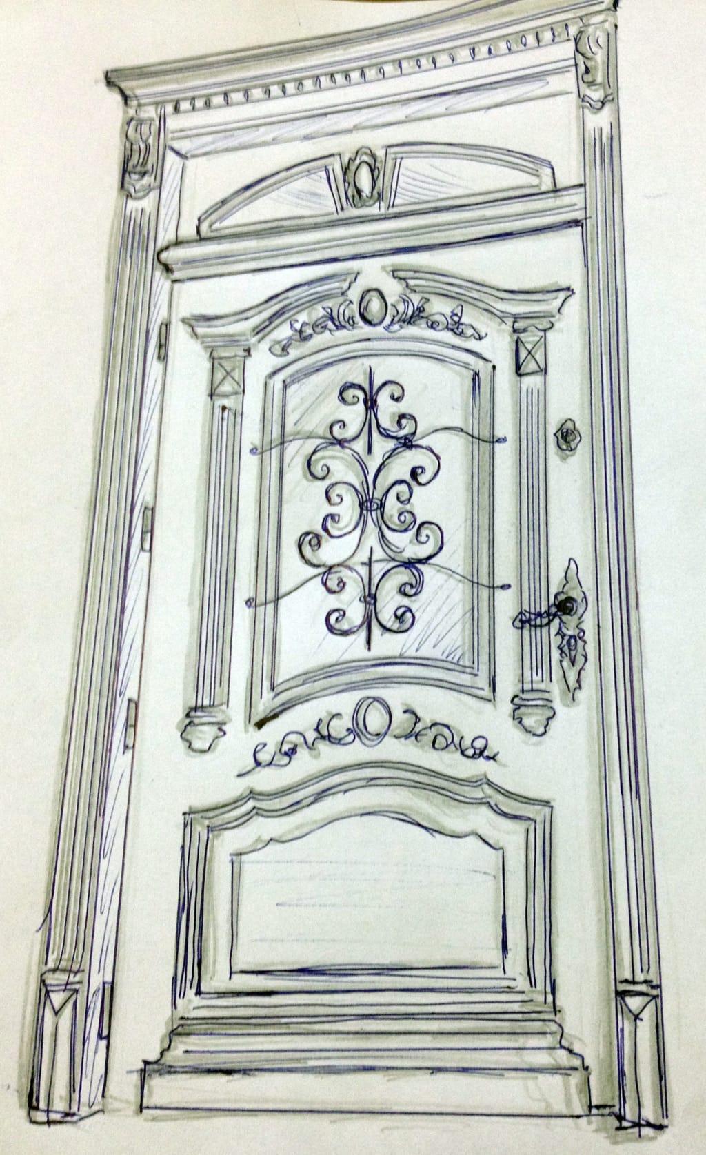 Drzwi frontowe na wymiar – indywidualne