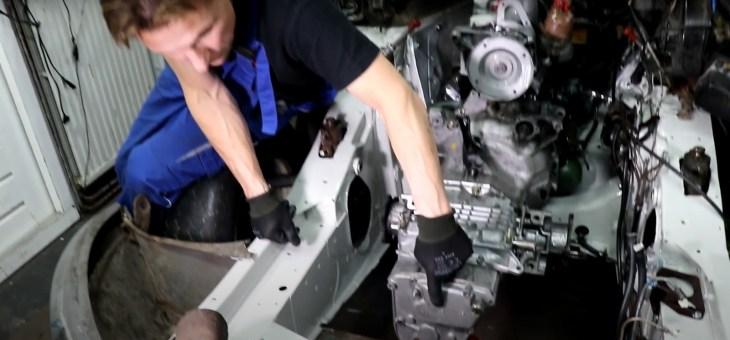 Preventieve werkzaamheden aan de 5 versnellingsbak