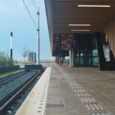 Natuursteen afdichten op station Lansingerland-Zoetermeer