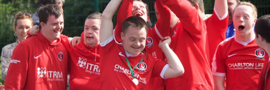 """DSActive is vital...where else can my son play football where his Down's syndrome doesn't disadvantage him?"""