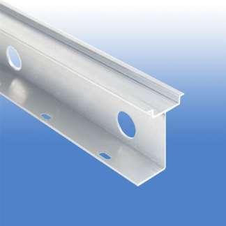 A 13 Piece Box of 2 Meter High Rise Aluminum Rail #111.045.
