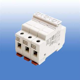 3 POLE FUSE HOLDER FOR CLASS CC FUSES