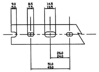 A 12 PIECE BOX OFf 3/4 X 2 WHITELOW DENSITY-LARGE FINGERS