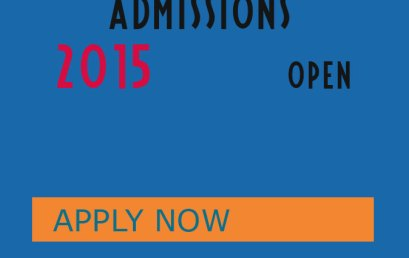 ADMISSION ANNOUNCEMENT 2014-2015