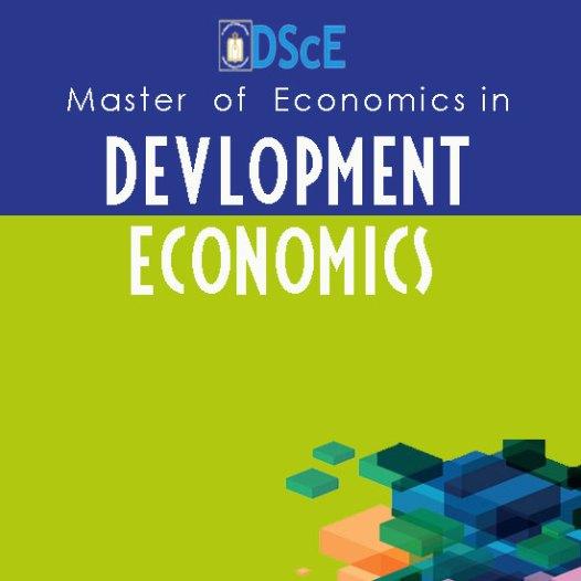 Master of Economics in Development Economics