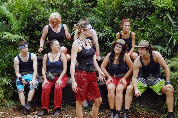 Claudelle bei der Dschungelprüfung VORZIMMER ZUR HÖLLE