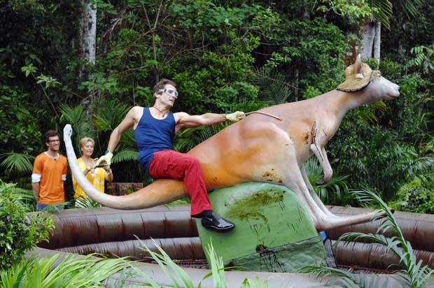 Das Känguru des Grauens - Dschungelprüfung @ Ich bin ein Star - holt mich hier raus