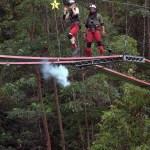 Schiessübung im Dschungeldach