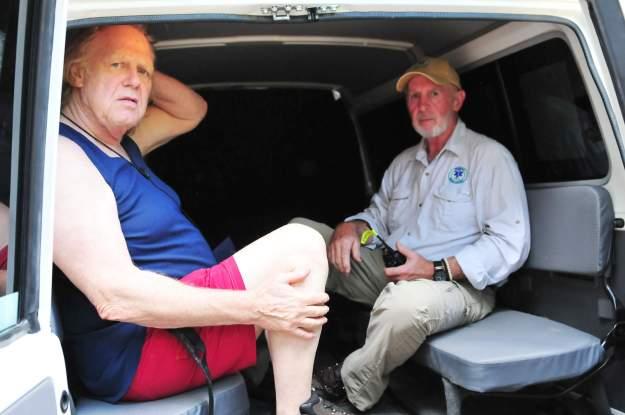 Gunter und Dr. Bob