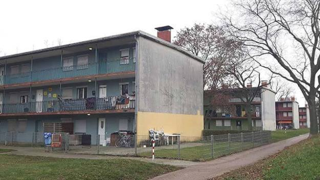 Benz-Baracken in Mannheim