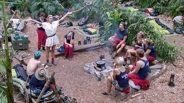 Giuliana Farfalla verlässt das Dschungelcamp