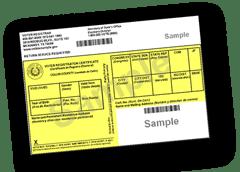 Voter Registration Card