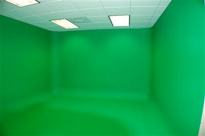 Green screen studio3