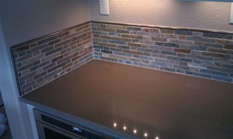 kitchen remodel tile back splash