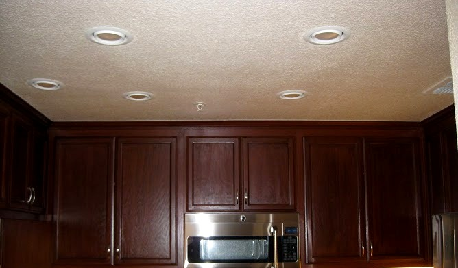 recessed lights after