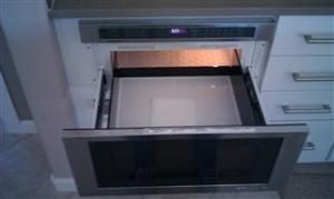 Drawer Design Under Cabinet Microwave