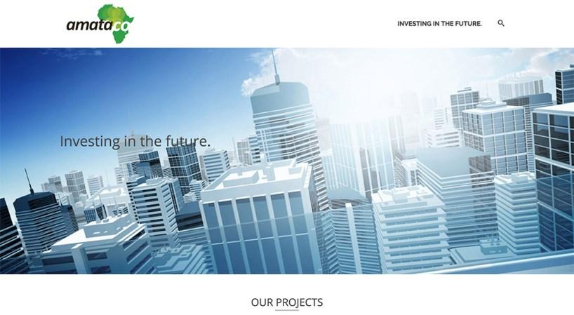 Website design, graphic design, content writing // amataco.com