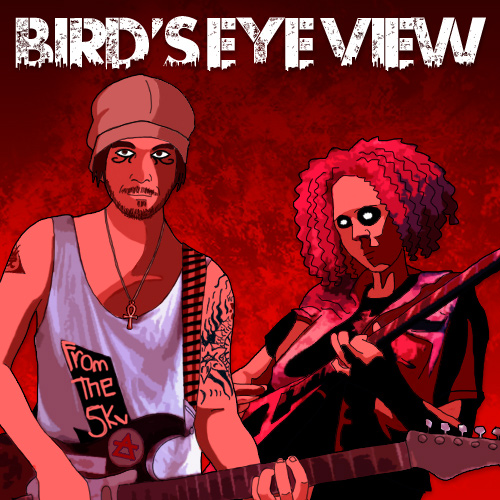 "Promotional image for track ""bird's eye view"" by matek."