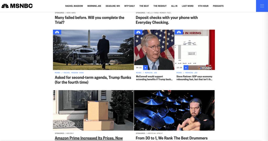 paid media - native advertising