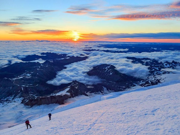 12K Foot Sunrise