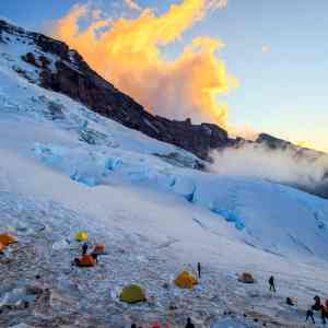 Camp Schurman Sunset