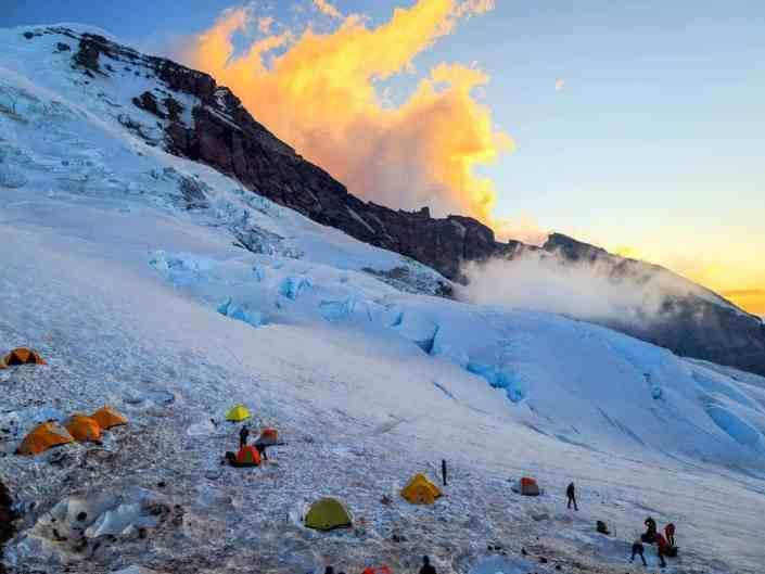 Camp Schurman Sunset