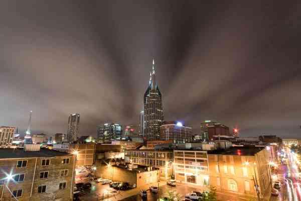 Clouds Over Nashville
