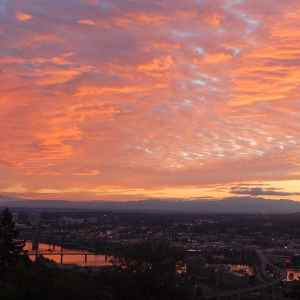 Colorful Portland Sunrise
