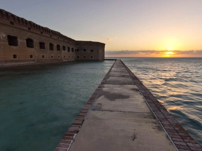 Dry Tortugas Sunset