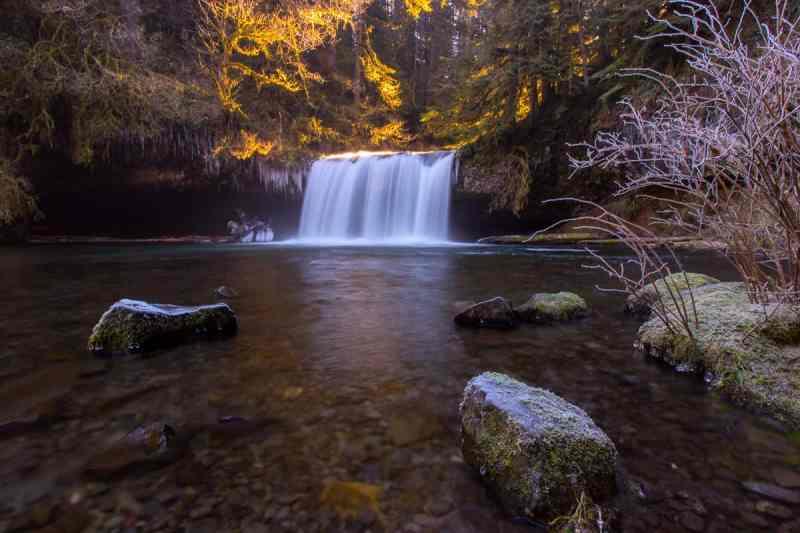 Frozen Butte Creek Falls