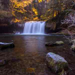 Frozen Butte Creek Falls